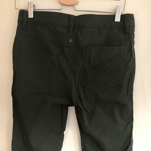 Green pants - prana - stretchy